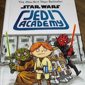 Scholastic Star Wars Jedi academy book